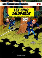 Les tuniques Bleues -21a1992- Les cinq salopards