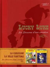Lucky Luke - Les Dessous d'une création (Atlas) -13- La caravane / La ville fantôme