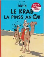 Tintin (en langues régionales) -9Réunionnai- Le krab la pinss an or