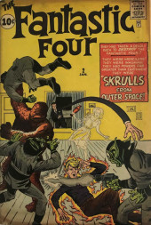Fantastic Four (1961) -2- Skrull from outer space