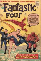 Fantastic Four (1961) -4- The coming of... Sub-Mariner !