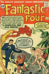 Fantastic Four (1961) -6- Captives of the deadly duo !