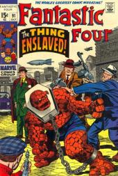 Fantastic Four (1961) -91- The thing enslaved !