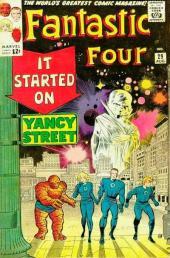 Fantastic Four (1961) -29- It started on Yancy street !