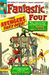 Fantastic Four (1961) -26- The Avengers take over !