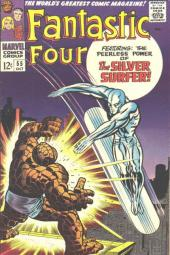 Fantastic Four (1961) -55- When strikes the Silver Surfer !