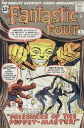 Fantastic Four (1961) -8- Prisoners of the puppet master !