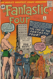 Fantastic Four (1961) -9- The end of the Fantastic Four !