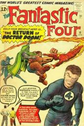 Fantastic Four (1961) -10- The return of Doctor Doom !