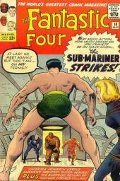 Fantastic Four (1961) -14- The Sub-mariner strikes !