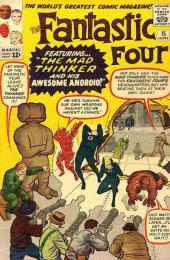 Fantastic Four (1961) -15- The mad thinker and his awesome android !