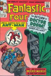 Fantastic Four (1961) -16- The micro-world of Doctor Doom !