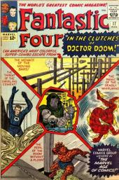 Fantastic Four (1961) -17- Defeated by Doctor Doom !