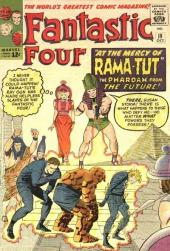 Fantastic Four (1961) -19- Prisoners of the Pharoah !