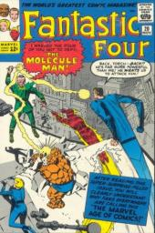 Fantastic Four (1961) -20- The mysterious molecule man !