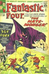 Fantastic Four (1961) -21- The hate-monger !