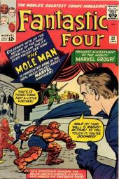 Fantastic Four (1961) -22- The return of the mole man !