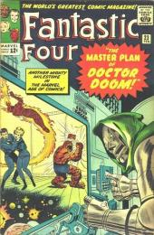 Fantastic Four (1961) -23- The master plan of Doctor Doom !