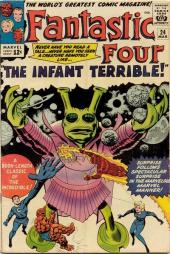 Fantastic Four (1961) -24- The infant terrible !