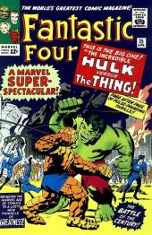 Fantastic Four (1961) -25- The hulk versus the thing !