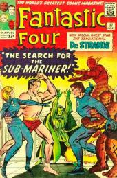 Fantastic Four (1961) -27- The search for the sub-mariner !