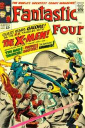 Fantastic Four (1961) -28- We have to fight the X-men !