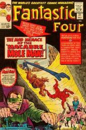 Fantastic Four (1961) -31- The mad menace of the macabre mole man !