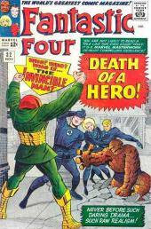 Fantastic Four (1961) -32- Death of a hero !