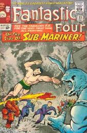 Fantastic Four (1961) -33- Side-By-Side With Sub-Mariner !