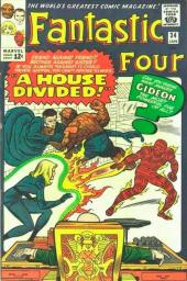 Fantastic Four (1961) -34- A house divided !