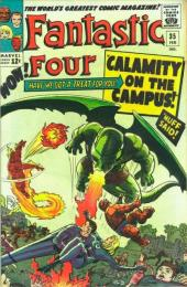 Fantastic Four (1961) -35- Calamity on the campus !