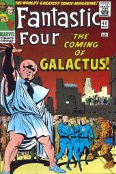Fantastic Four (1961) -48- The coming of galactus !
