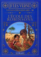 Jules Verne - Voyages extraordinaires -10- L'école des robinsons
