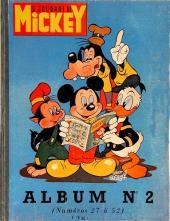 (Recueil) Mickey (Le Journal de) (1952) -2- Album n°2 (n°27 à 52)