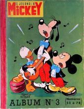 (Recueil) Mickey (Le Journal de) -3- Album n°3 (n°53 à 78)
