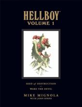 Hellboy Library Edition (2008) -INT1- Volume 1: Seed of Destruction and Wake the Devil