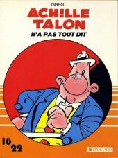 Achille Talon (16/22) -11b- Achille Talon n'a pas tout dit