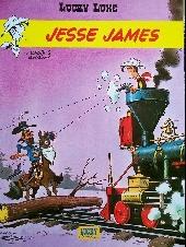 Lucky Luke (Pub et Pastiches) -35Crédit Mut- Jesse James