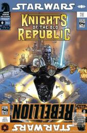 Star Wars: Rebellion (2006) -0- Star Wars: Knights of the Old Republic/Rebellion flip book