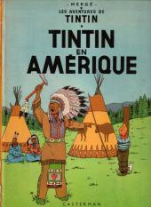 Tintin (Historique) -3B40- Tintin en Amérique