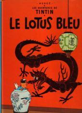 Tintin (Historique) -5B41- Le lotus bleu