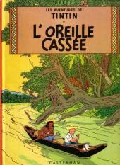 Tintin (Historique) -6B41- L'oreille cassée