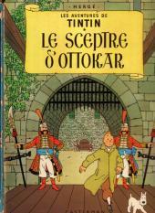 Tintin (Historique) -8B40- Le sceptre d'Ottokar