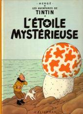 Tintin (Historique) -10B40- L'étoile mystérieuse