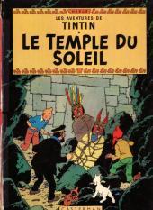 Tintin (Historique) -14B40- Le temple du soleil