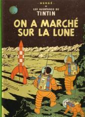 Tintin (Historique) -17B42- On a marché sur la lune