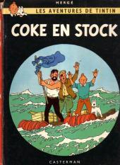Tintin (Historique) -19B40- Coke en stock