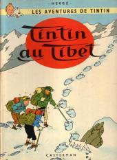 Tintin (Historique) -20B40- Tintin au Tibet