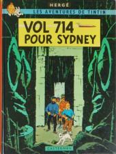 Tintin (Historique) -22B42- Vol 714 pour Sydney