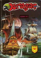Ouragan (3e série) -Rec01- Album n°1 (du n°1 au n°4)
